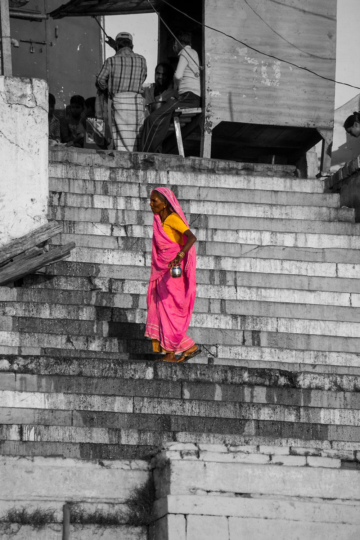 Varanasi, il cuore spirituale dell'India, i gat