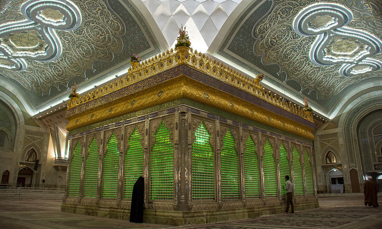 Shah-In-Shah ed il Mausoleo di Khomeini