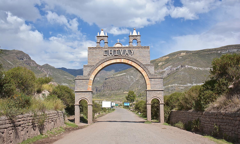 Perù, Chivay